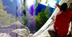 Rock Climbing Photo: Suicide Water Color Day Dream!!!