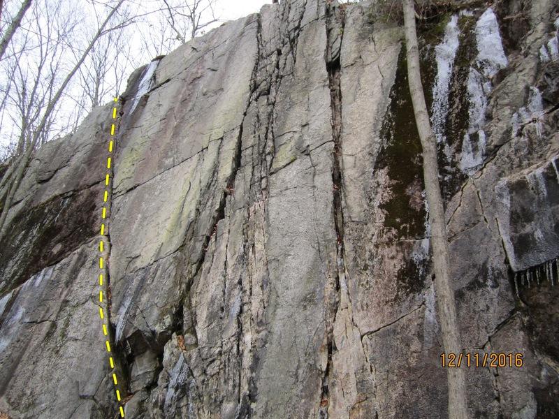 Rock Climbing Photo: Willie Wonka