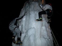 Rock Climbing Photo: Yes, we would be ice sluts 24 hours a day if we co...