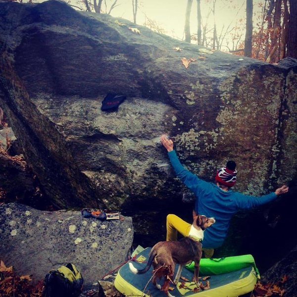 Rock Climbing Photo: I wanna new drug