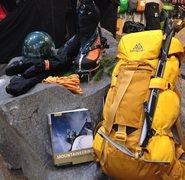 Rock Climbing Photo: Alpinisto Kit!!!