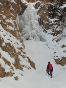 Rock Climbing Photo: Hayden Carpenter approaches the second flow.  Phot...