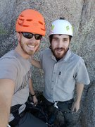 Rock Climbing Photo: A good day of climbing and cheer.