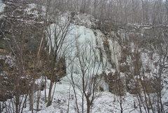 Rock Climbing Photo: Main Route 12-23-16.