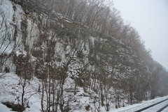 Rock Climbing Photo: Main Route right side 12-23-16.