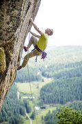 Rock Climbing Photo: The Green Eyed Monster, Recovery Wall.  Photo cred...