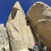 Rock Climbing Photo: more flats