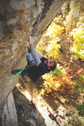 """Rock Climbing Photo: """"The Show me State"""" 5.12a"""
