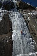 Rock Climbing Photo: First pitch of PT.