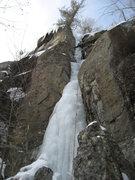 Rock Climbing Photo: Top of Hidden Pique.
