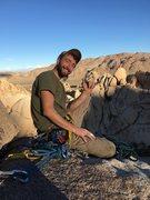 Rock Climbing Photo: Hang 10 in J tree