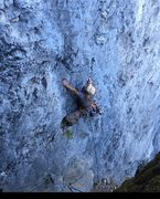 Rock Climbing Photo: On the sharp end, trinity aretes