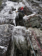 Rock Climbing Photo: Reunion is normally climbed this way -- starting f...