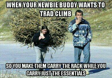 Rock Climbing Photo: Trad daddy 101