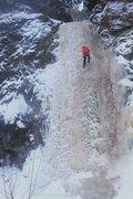 Rock Climbing Photo: Cascade 12/25/16, Christmas Ice!