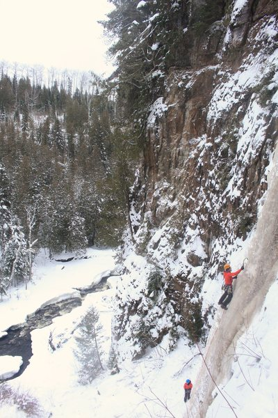 Rock Climbing Photo: Having a great Christmas climb!
