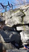 Rock Climbing Photo: I did it.