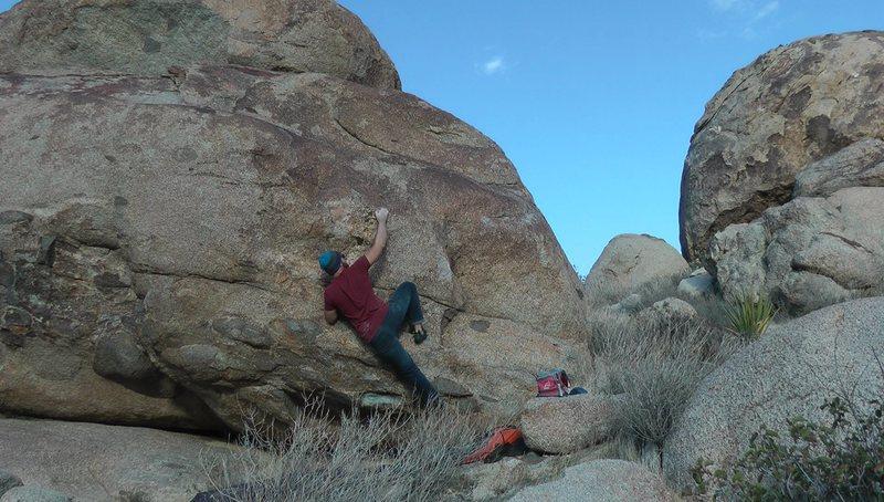 Rock Climbing Photo: left exit