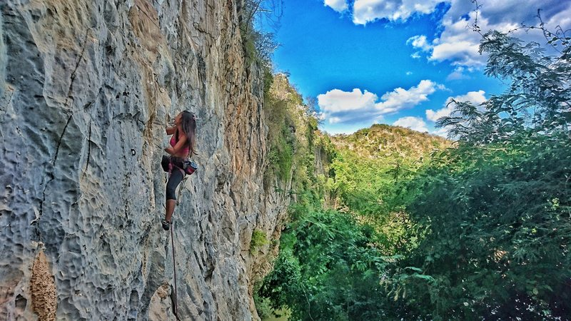 Rock Climbing Photo: You Are Legend  6c Classic !