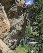 Rock Climbing Photo: Max on the aesthetic Ken T'anks.  Photo: Ben C...