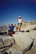 Rock Climbing Photo: Mandatory summit pose after climbing Snake Dike in...
