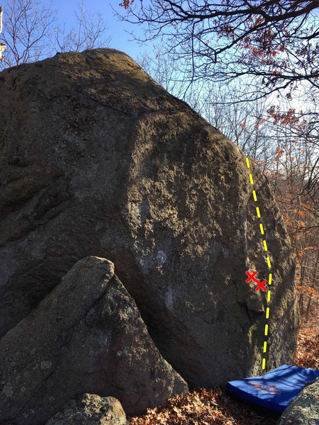 """Rock Climbing Photo: """"The Bow"""" on the right."""
