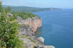 Rock Climbing Photo: Palisade Head