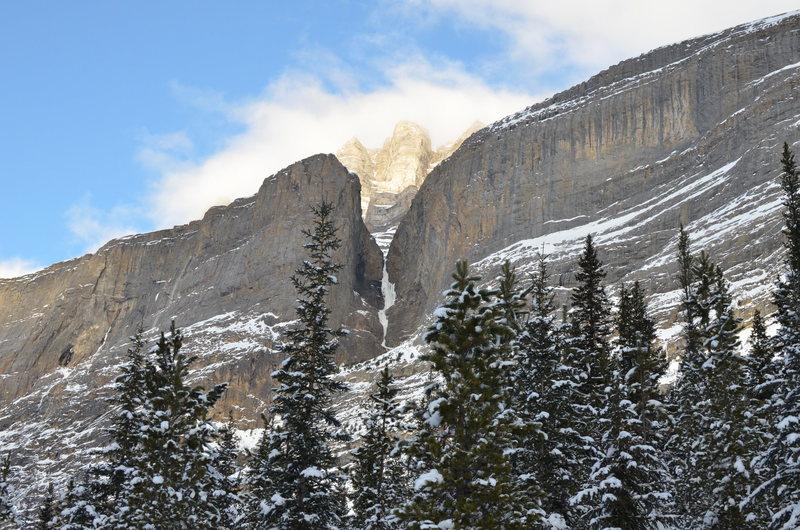 Rock Climbing Photo: Polar Circus 1 December 2015