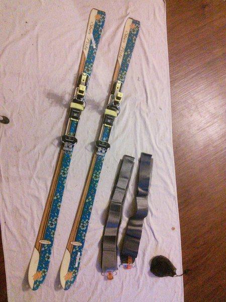 K2 skis, Silvretta bindings