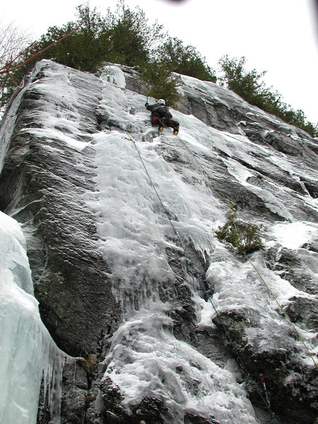 "Rock Climbing Photo: ""H14"", at Chapel Pond."