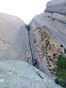 Rock Climbing Photo: Nirvana