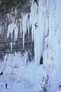 "Rock Climbing Photo: Tom Yandon on ""Play it Again, Salmon"", S..."