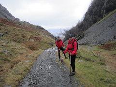 Rock Climbing Photo: Near Castle Crag