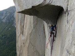 Rock Climbing Photo: great roof