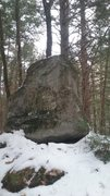 Rock Climbing Photo: Another boulder in the group right off the trail. ...