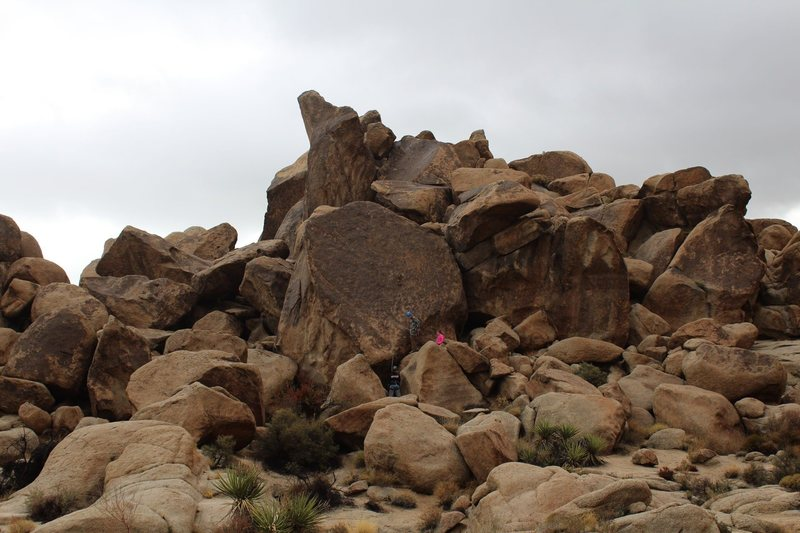 View of Candyass slab