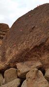 Rock Climbing Photo: bolt location