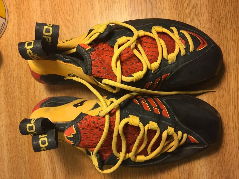 size 40.5 la sportiva genius shoes