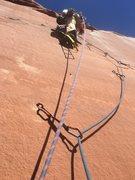 Rock Climbing Photo: Last pitch fun