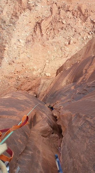 Rock Climbing Photo: desert big wall