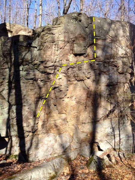 Rock Climbing Photo: Sidewinder: V2-