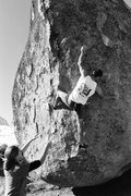 Rock Climbing Photo: Myself sending Saigon, circa 2001. This is still m...