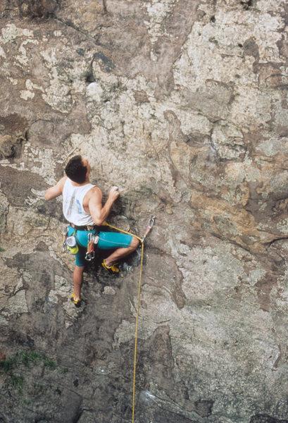 Rock Climbing Photo: F.A. Stim-O-Stam