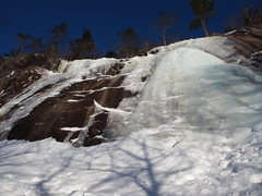 Rock Climbing Photo: Different view of the main flow, plus a thinner fl...