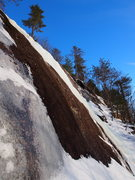 Rock Climbing Photo: Taken from the side, gives you an idea of the aver...