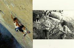 Rock Climbing Photo: Peter Hayes 1992 Big Electric Cat