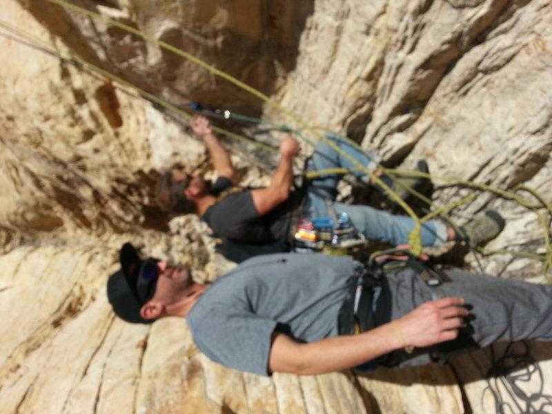 "Rock Climbing Photo: Joey Vanas sets out to climb ""Mans Best Frien..."