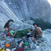 Rock Climbing Photo: Pitch 8 Bivvy