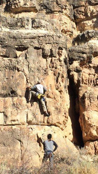 Rock Climbing Photo: Jacks Canyon Dec, 2016