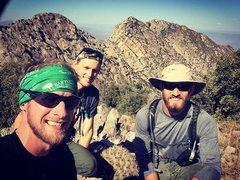 Rock Climbing Photo: Amethyst Peak, 4 Peaks AZ